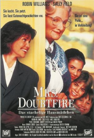 Mrs. Doubtfire mit Robin Williams, Sally Field und Pierce Brosnan