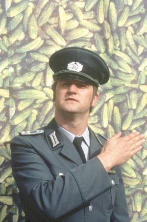 Abschnittsbevollmächtigter Horkefeld im Dienst.