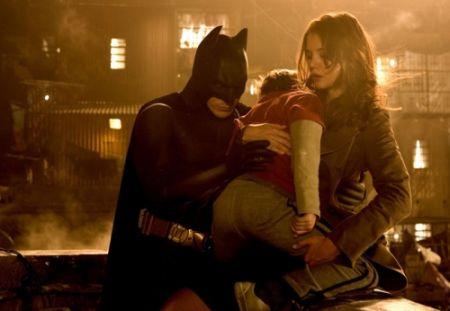 Batman Begins mit Christian Bale, Liam Neeson und Cilian Murphy