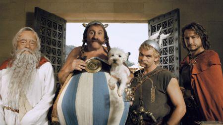 Asterix bei den olympischen Spielen mit Clovis Cornillac und Gerade Depardieu