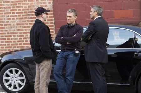 Michael Clayton mit George Clooney, Tom Wilkinson und Tilda Swanton