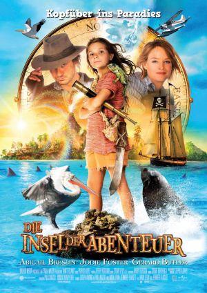 Die Insel der Abenteuer mit Abigail Breslin, Jodie Foster under Gerard Butler