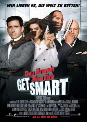 Get Smart mit Steve Carell, Anne Hathaway, Alan Arkin und Dwayne Johnson