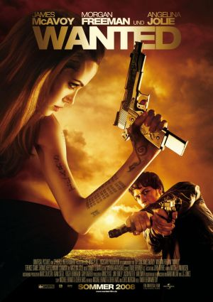 Wanted (mit James McAvoy, Angelina Jolie, Morgen Freeman und Thomas Kretschmann)
