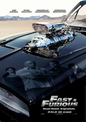 Fast & Furious with Paul Walker and Vin Diesel