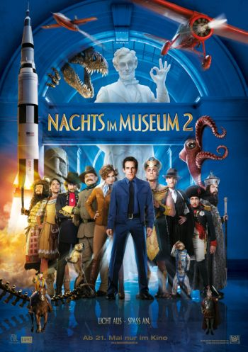 Nachts im Museum 2 (mit Ben Stiller)