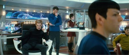 Star Trek with Chris Pine and Zachary Quinto