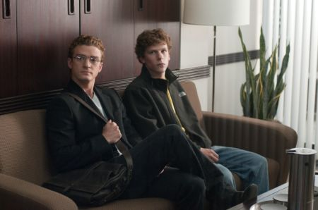 The Social Network (mit Jesse Eisenberg, Andrew Garfield und Justin Timberlake)
