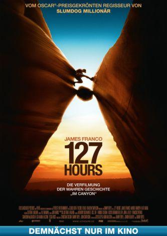 127 Stunden (von Danny Boyle mit James Franco)
