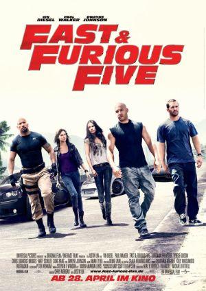 Fast & Furious Five (mit Vin Diesel)
