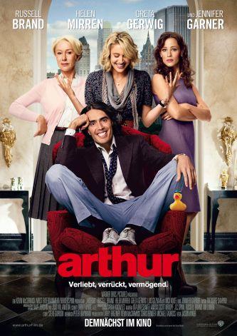 Arthur (mit Russell Brand & Helen Mirren)