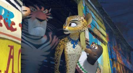Madagascar 3: Flucht durch Europa)