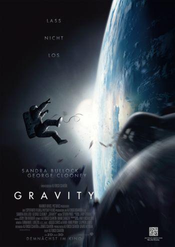 Gravity (mit Sandra Bullock und George Clooney)