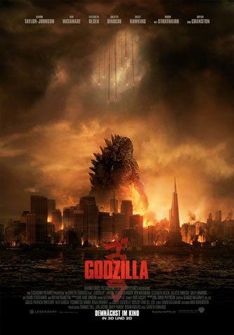 Godzilla (2014) in 3D